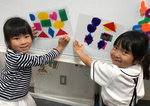 形と色で文章づくり 小学生低学年クラス