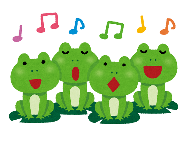 A frog in your throat とは?